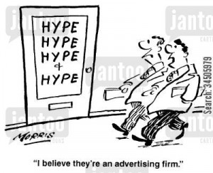 'I believe they're an advertising firm.'
