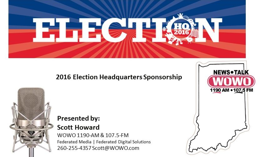 WOWO 2016 Election HQ SLH - Presenting Sponsorship