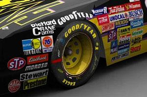 NASCAR-stickers